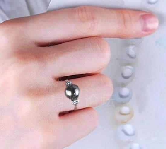 福字戒指正确带法图片_戒指的带法