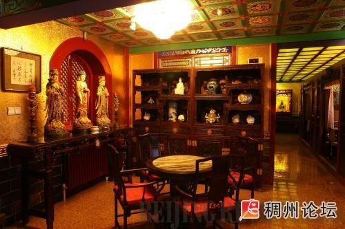欣赏明清仿古家具在中式茶楼中的应用效果图及中式茶楼简介