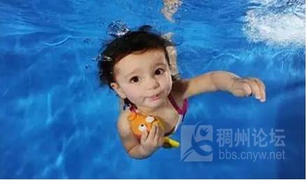 婴儿游泳在国外是常识性的知识